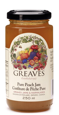 Greaves - Pure Peach Jam