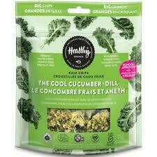 Healthy Crunch - KALE Chips (Cool Cucumber + Dill)