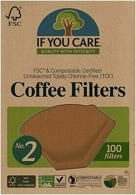 If You Care - Coffee Filters No. 2  (100ct.)