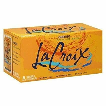 LaCroix - Orange Sparkling Water