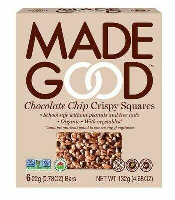 Made Good - Choc. Chip Crispy Squares