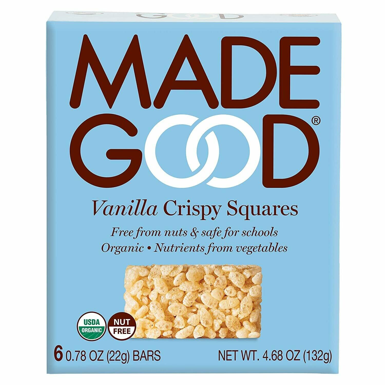 Made Good - Vanilla Crispy Squares