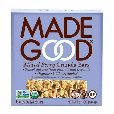 Made Good - Mixed Berry Granola Bars