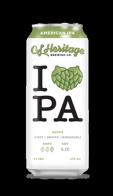 GL Heritage - I ♥ PA (American IPA)