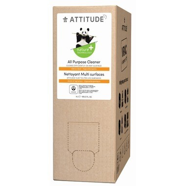 Attitude - All Purpose Cleaner - Citrus Zest 4L