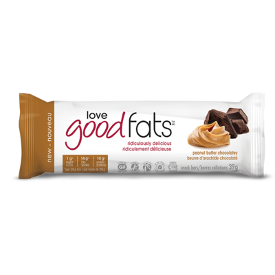 love good fats - Peanut butter Chocolatey 4pk (156)