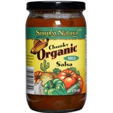 Simply Natural Chunky Organic Mild Salsa 470ml