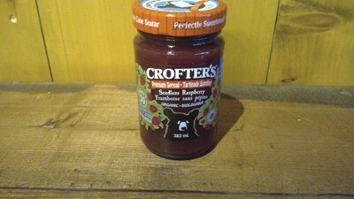 Crofter's - Seedless Raspberry Jam 383ml