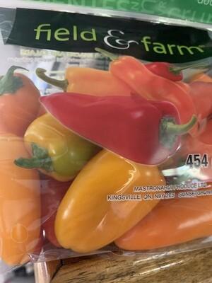 Mini Sweet Peppers 1lb bag