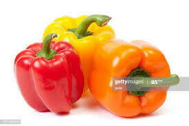 Red Yellow Orange Bell Peppers