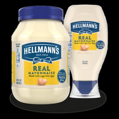 Hellmann's Real Maonnaise 340ml (squeeze)