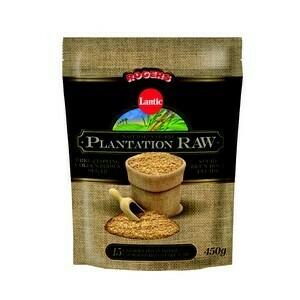 Lantic Natural Plantation Raw 450g