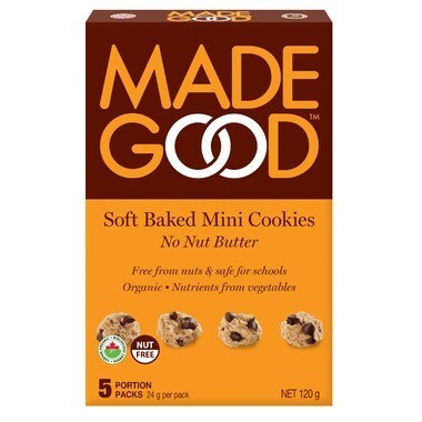 Made Good -Soft Baked Mini Cookies - No Nut Butter
