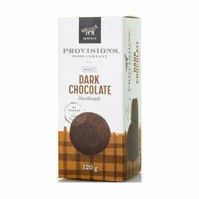 Provisions - Dark Chocolate Shortbread 110g