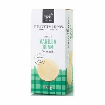 Provisions - Vanilla Bean Shortbread 110g