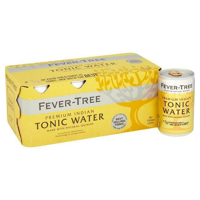 Fever Tree - 8pk. cans  Indian Tonic Water (Light)