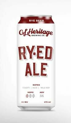 G.L. Heritage - Ry-ed Ale