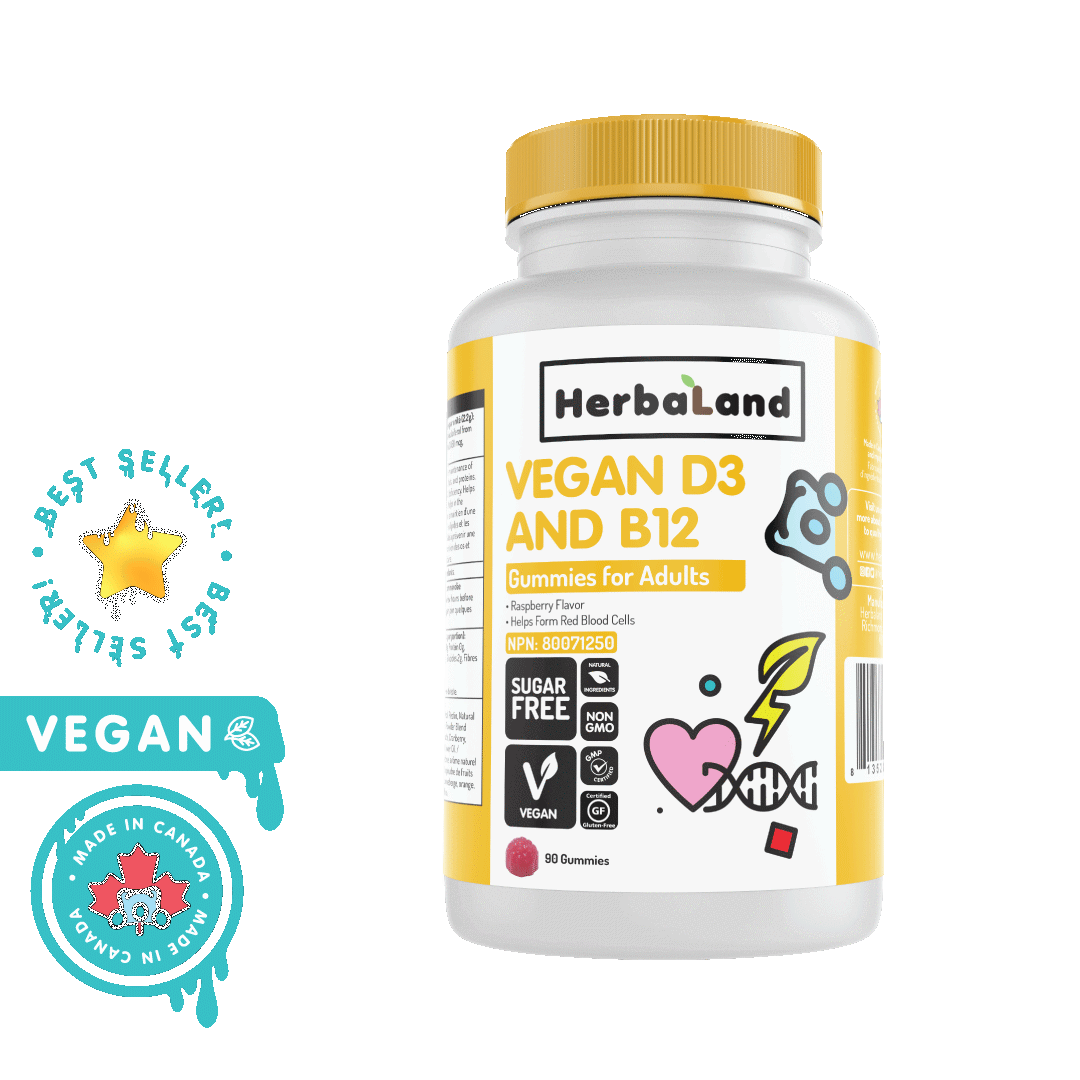 Herbaland - Vegan D3 & B21 Gummy - Adults