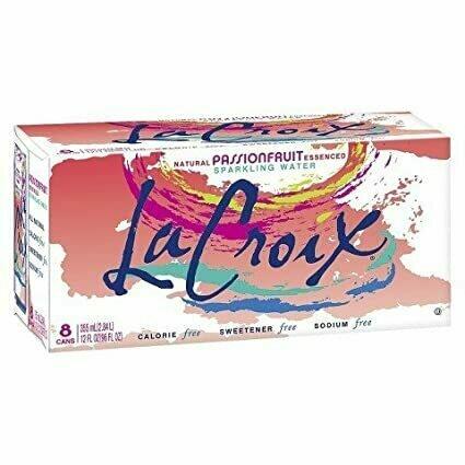LaCroix - Passion Fruit Sparkling Water