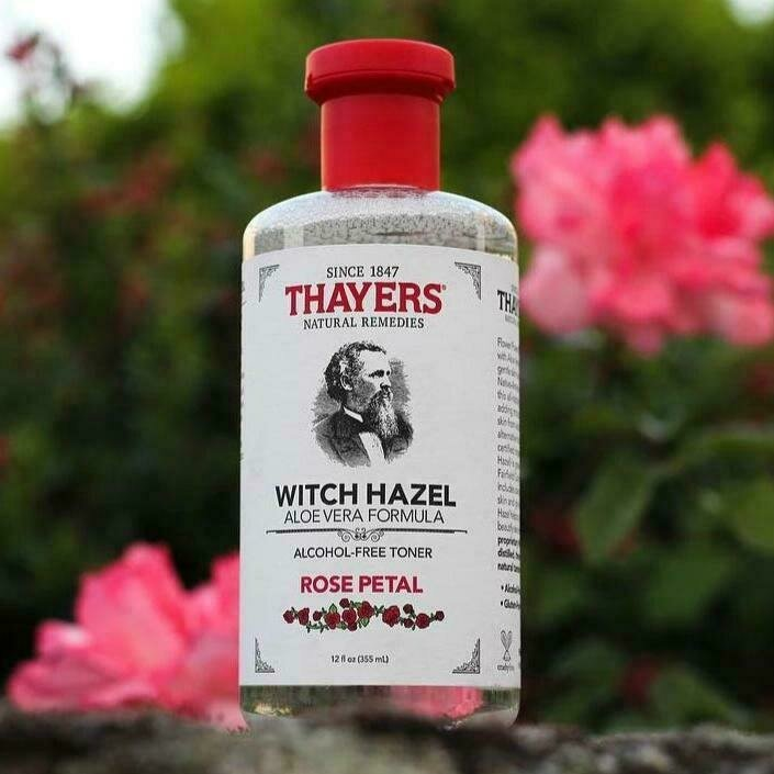 Thayers - Facial Toner (Rose Petal)  Witch Hazel  (355ml)