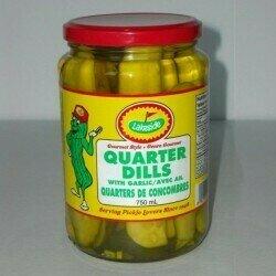 Lakeside Pickles - Quarter Dills Pickles  (750ml)