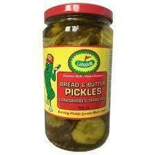 Lakeside Pickles - Bread & Butter Pickles  (750ml)