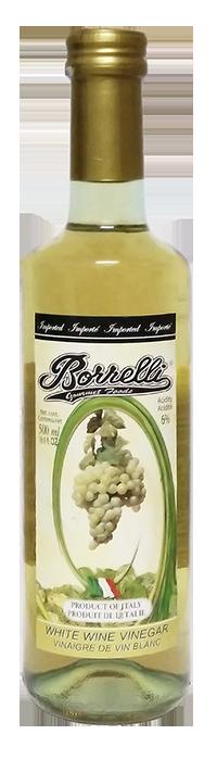 Borrelli - White Wine Vinegar  500ml