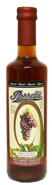 Borrelli - Red Wine Vinegar  500ml