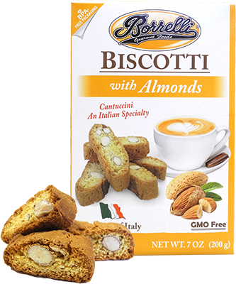 Borrelli - Biscotti w/Almonds