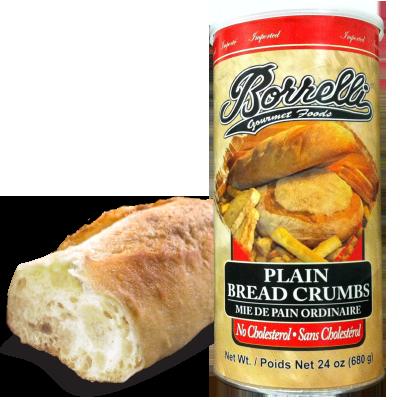 Borrelli - Plain Bread Crumbs  680g