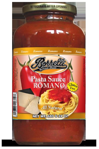 Borrelli - Pasta Sauce - Romano 24oz