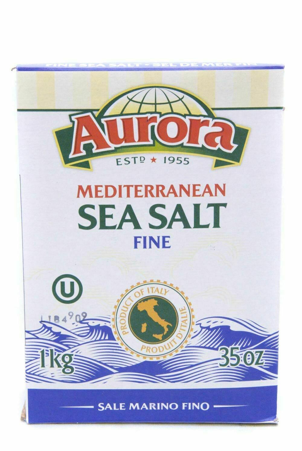 Aurora - Mediterranean Sea Salt Fine 1kg
