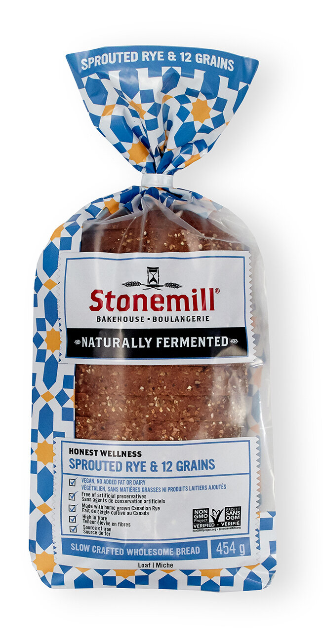 Stonemill Bakehouse - Sprouted Rye & 12 Grain Bread
