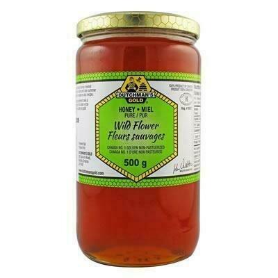 Dutchman's Gold - Wild Flower  Pure Honey 500g