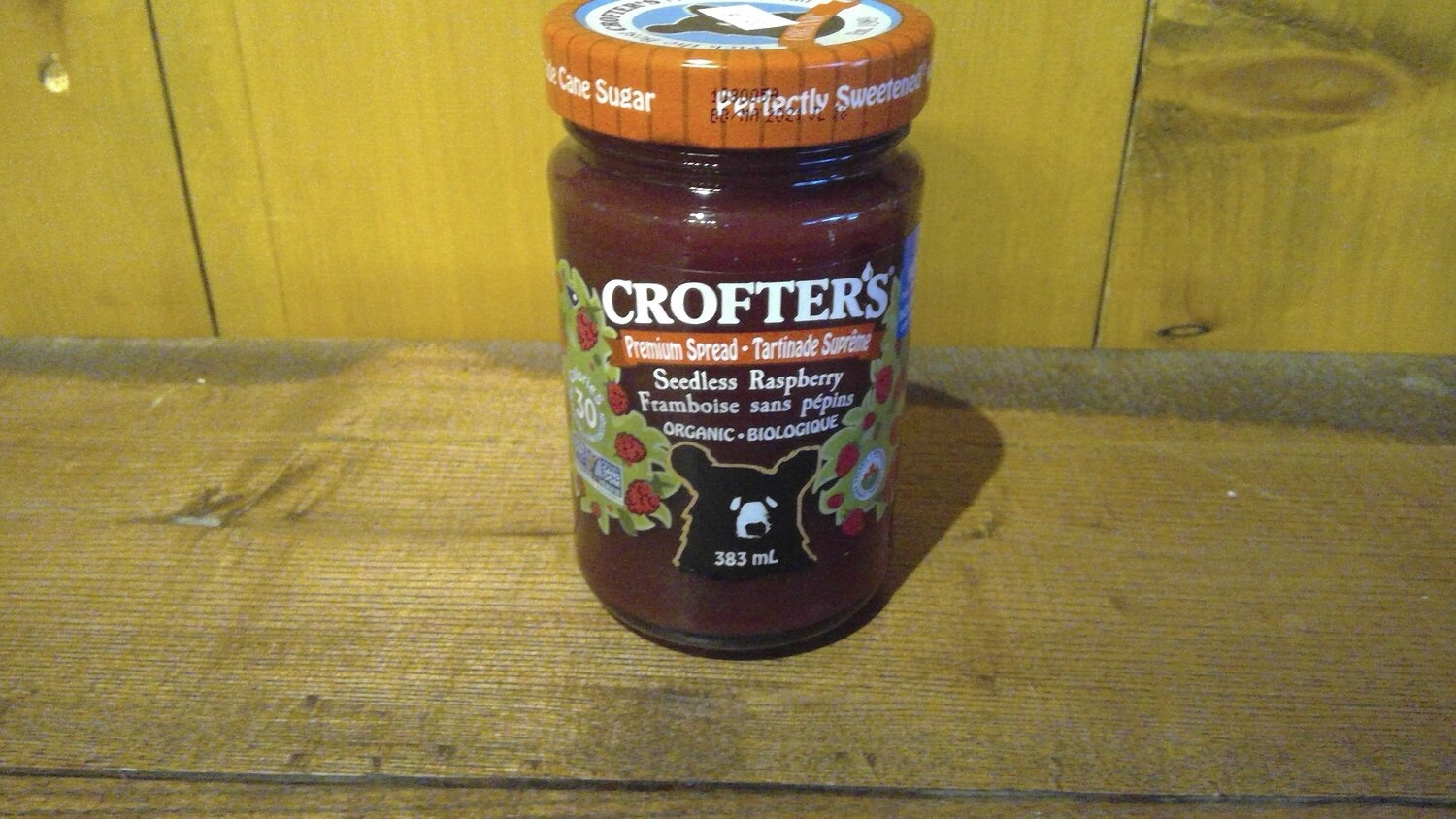 Crofter's - Seedless Raspberry Jam 383ml