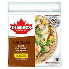 Dempsters - Whole Wheat  Tortillas (10)