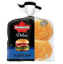 Dempsters - Deluxe Hamburger Buns (8)