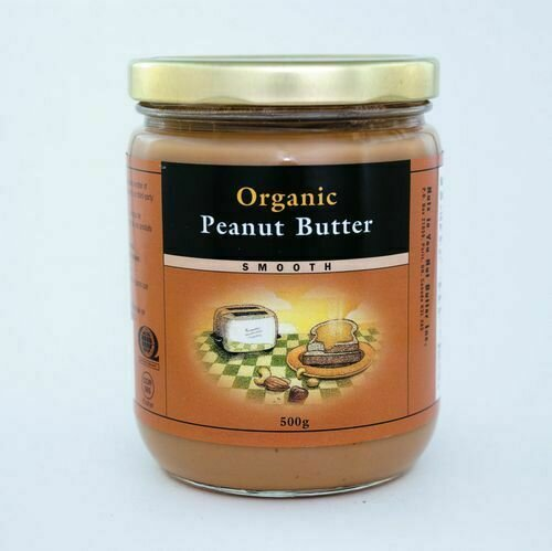 Nuts to You - Natural Smooth Peanut Butter 750g