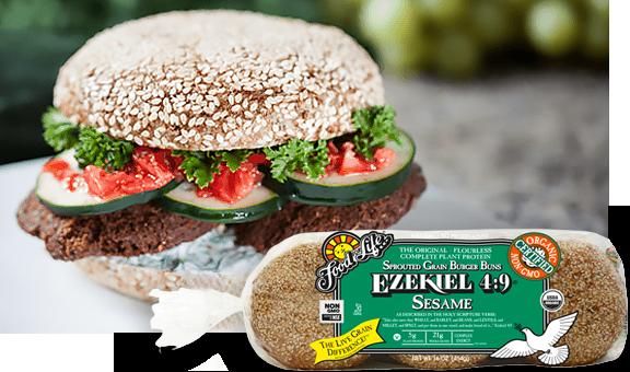Food For Life - Ezekiel Burger Sprout Buns