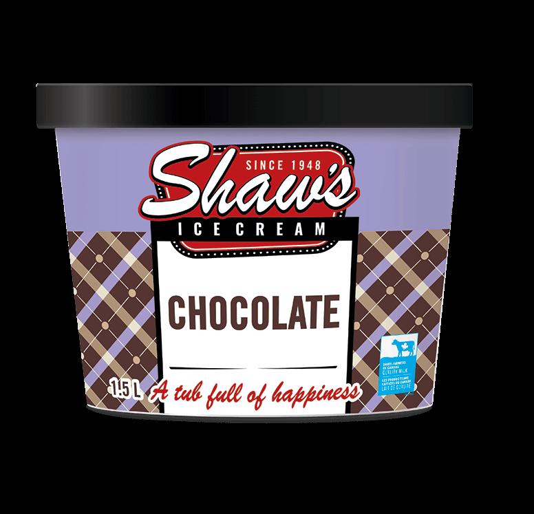 Shaw's Ice Cream - Chocolate 1.5L