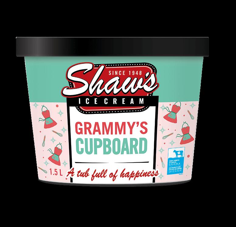 Shaw's Ice Cream - Grammy's Cupboard 1.5L