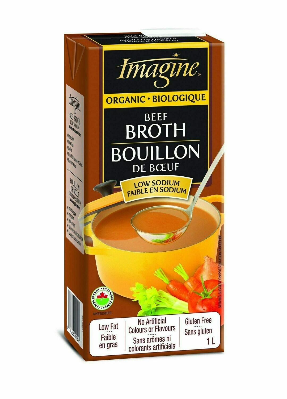 Imagine Foods - Beef Low Sodium Broth