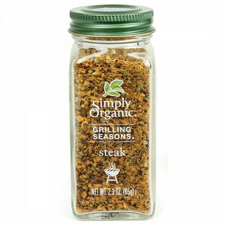 Simply Organic Grilling Seasons - Steak Spice
