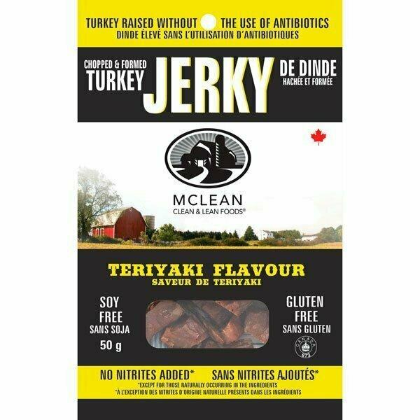 McLean Meats - Teriyaki Turkey Jerky