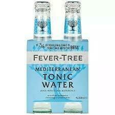 Fever Tree - Med. Tonic Water 4-pack