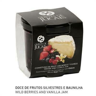 Jam for Cheese - Berries & Vanilla  (125g)