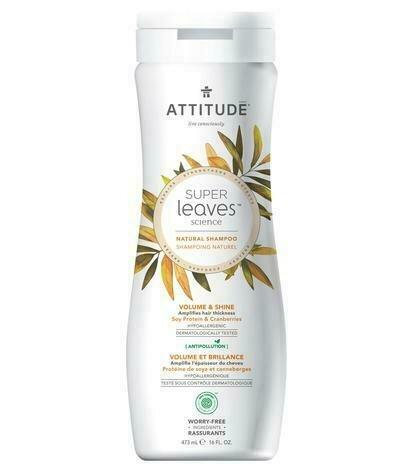 Attitude - Shampoo Volume & Shine (473ml)