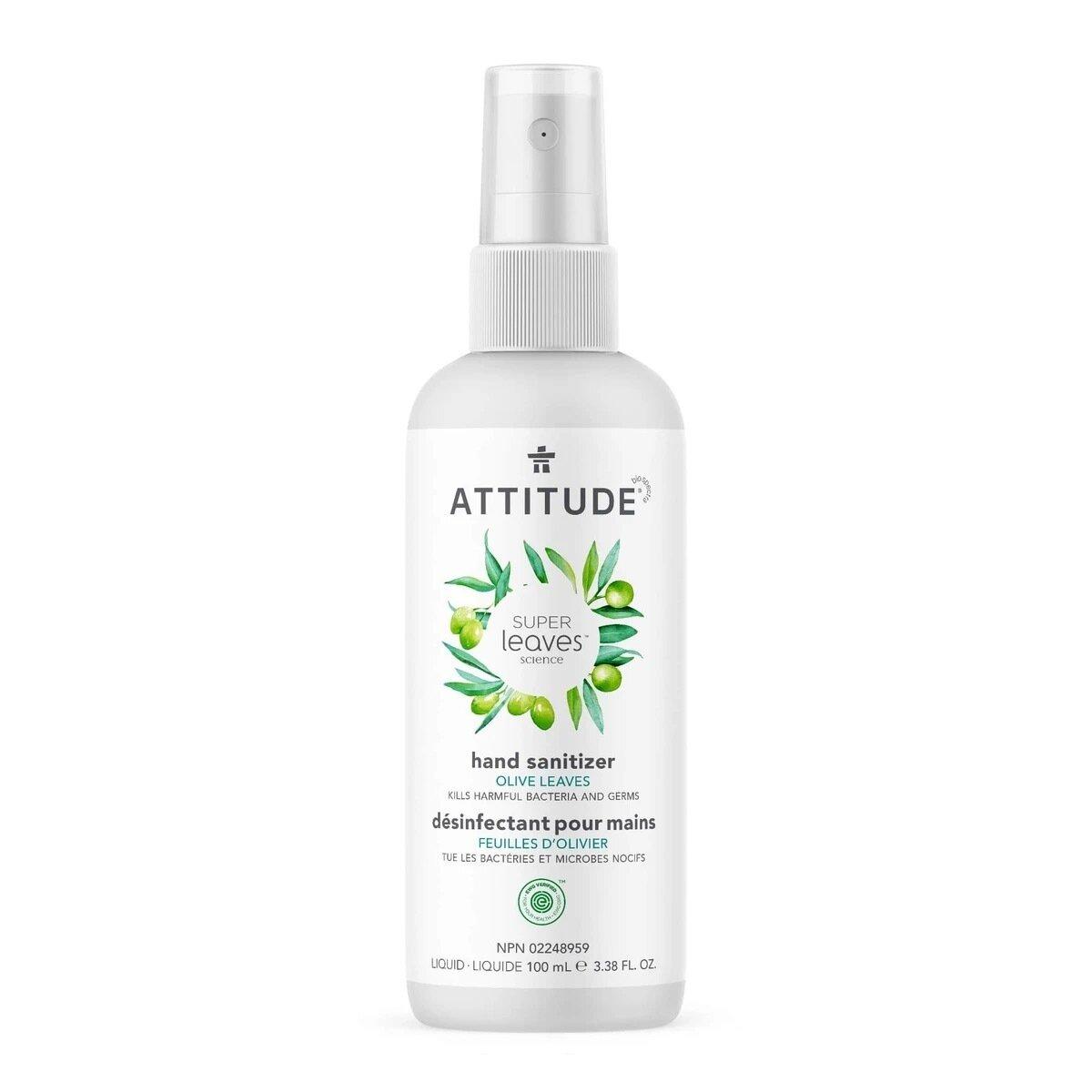 Attitude - Hand Sanitizer Olive Leaves  100ml