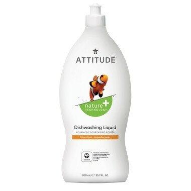 Attitude - Dishwashing Liquid Citrus Zest  700ml