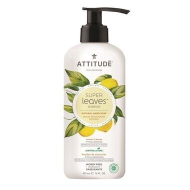Attitude - Hand Soap Lemon Leaves  473ml